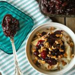 Cranberry Chutney Yogurt Parfait