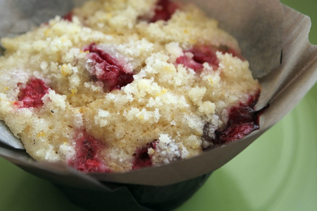 Cranberry Orange Streusel Muffins - Foodtastic Mom