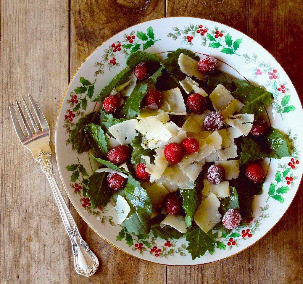 A bowl of Cranberry Salad