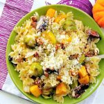 Roasted Autumn Vegetable Pasta
