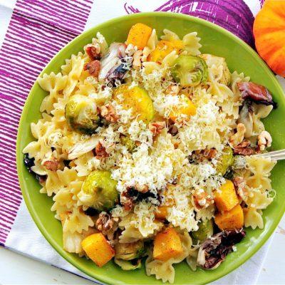 Roasted Autumn Vegetable Pasta