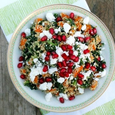 Winter Couscous Bowl