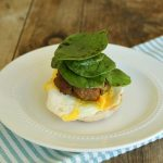English Breakfast Burgers
