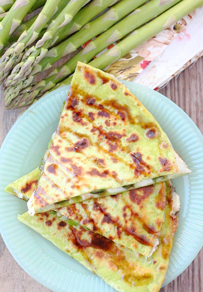 Asparagus Quesadilla
