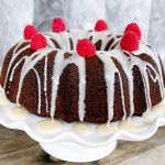 Glazed Chocolate Bundt Cake – Lightened Up