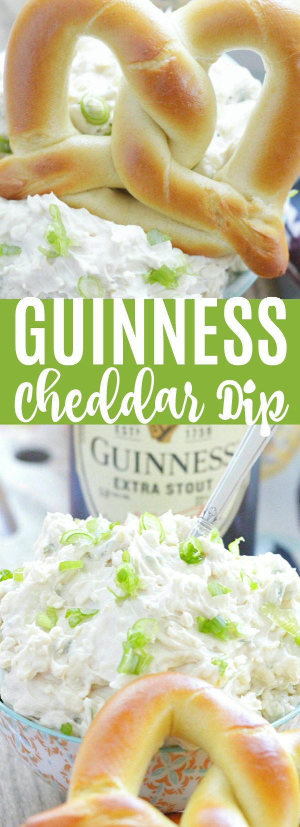 Guinness Cheddar Dip | Foodtastic Mom #guinnessrecipes #cheesedip #guinnesscheddardip via @foodtasticmom
