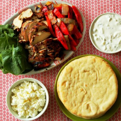 Greek Chicken Fajitas