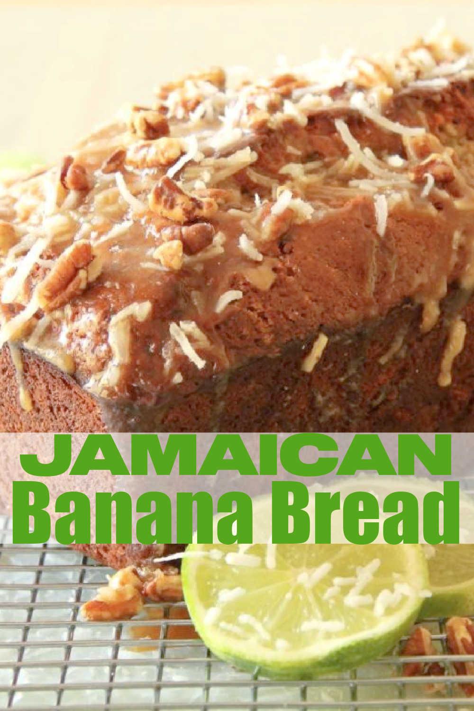 Jamaican Banana Bread   Foodtastic Mom #bananabread #breadrecipes #cookinglightrecipes via @foodtasticmom