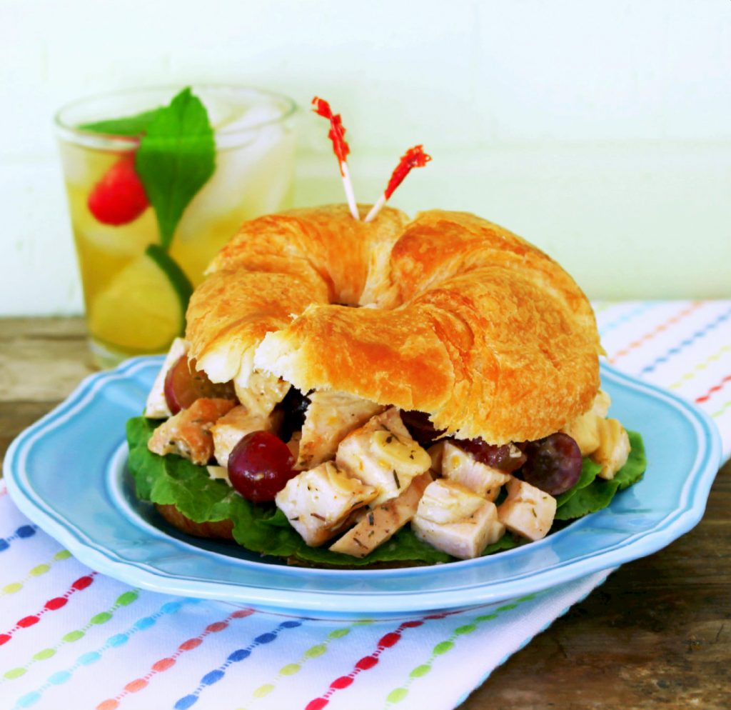 apricot chicken salad