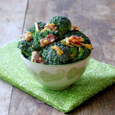 Easiest Broccoli Salad