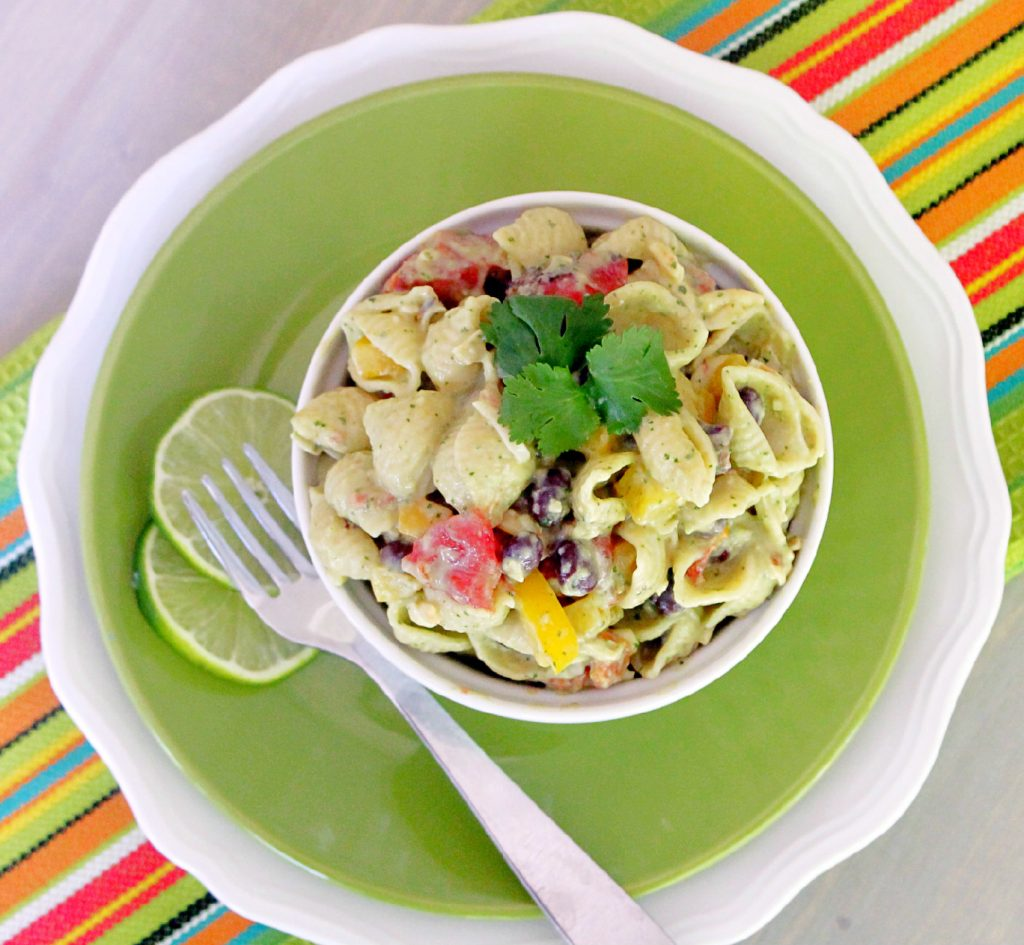 mexican greek yogurt pasta
