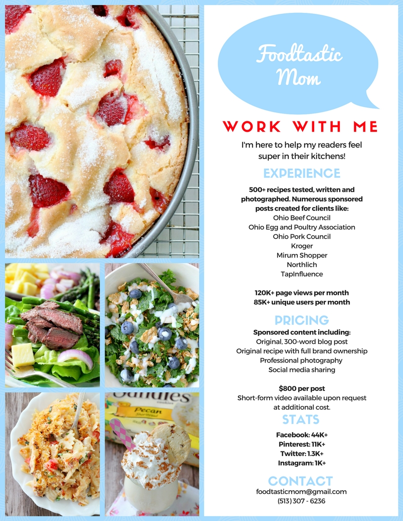 Work With Me - Foodtastic Mom