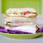 Pressed Grilled Veggie Sandwich