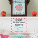 Simple Seasonal Printable Gift