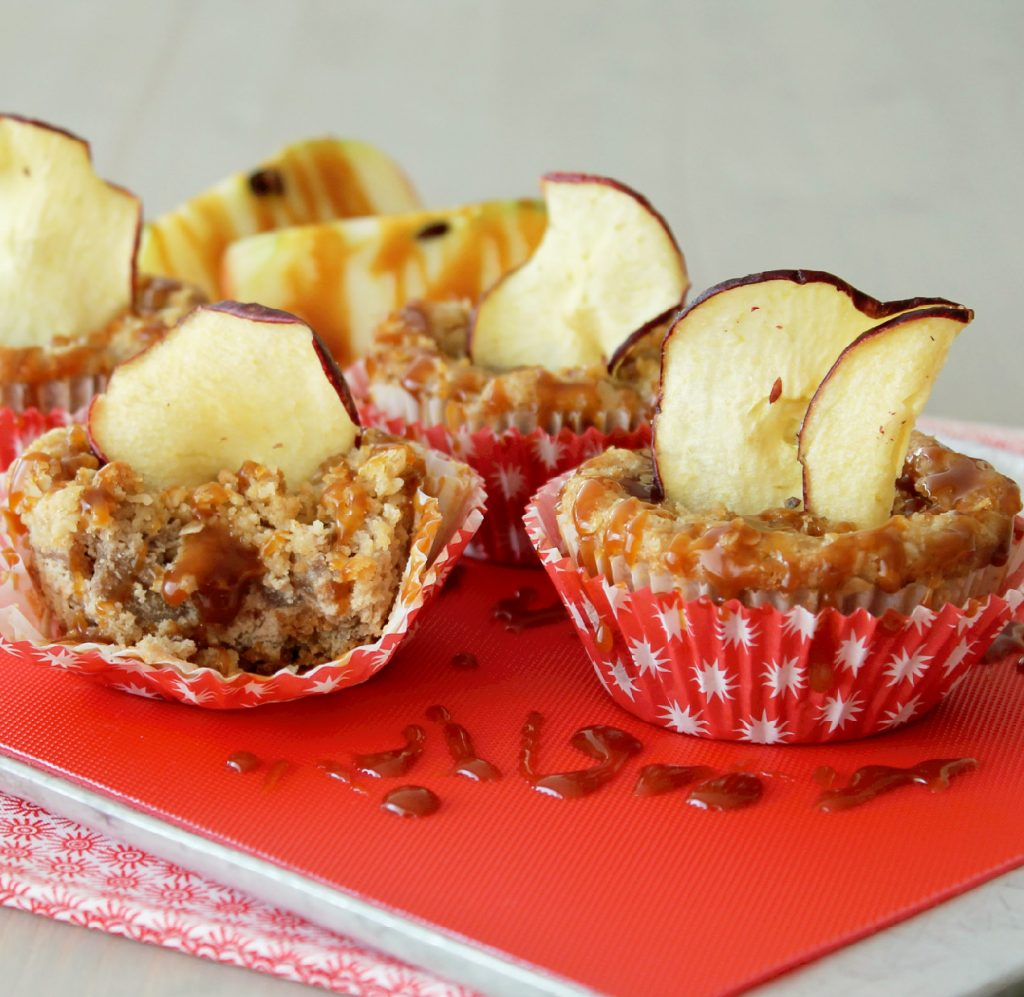 caramel apple cheesecakes side viewedited