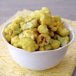 Curried Cauliflower Popcorn