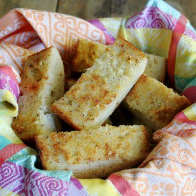 The World's Best Garlic Bread