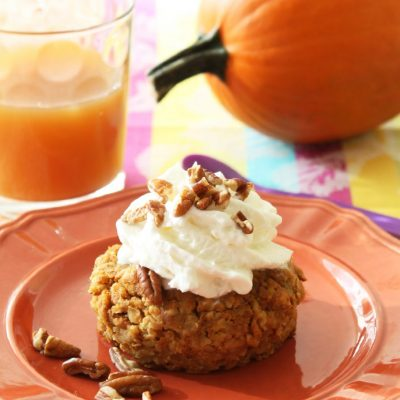 Pumpkin Pie Baked Oatmeal | Foodtastic Mom
