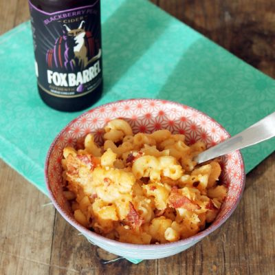 Roasted Cauliflower and Bacon Macaroni and Cheese