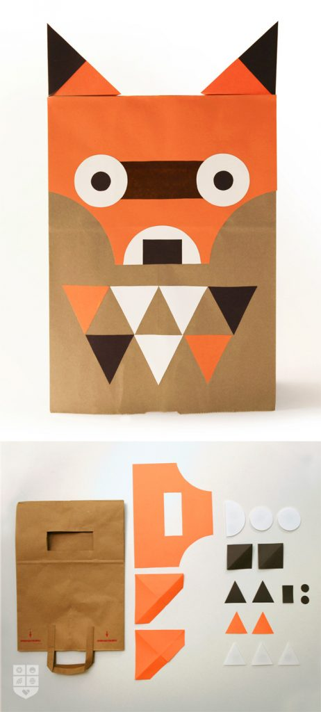 12 simple halloween diy costume ideas foodtastic mom paper bag fox wee society solutioingenieria Image collections