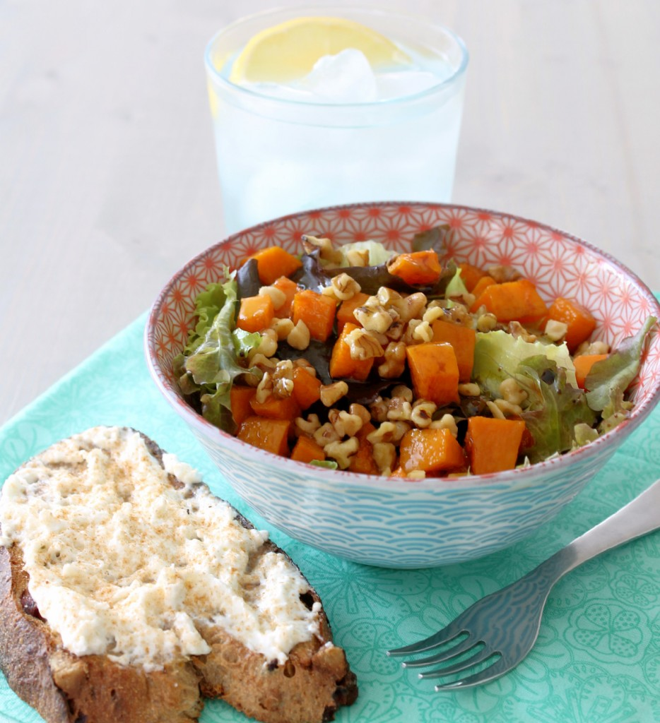 Butternut Squash Salad Lunch