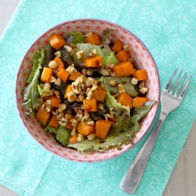 Roasted Butternut Squash Salad {plus a giveaway}