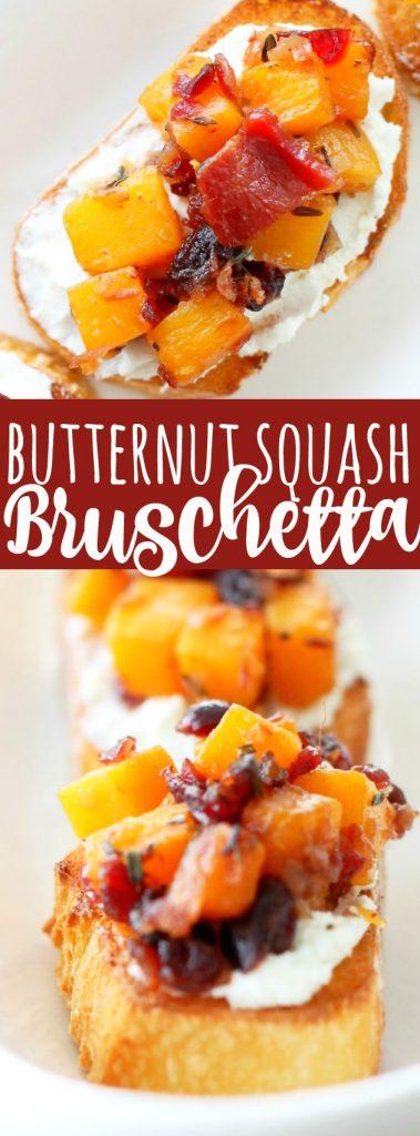 Butternut Squash Bruschetta
