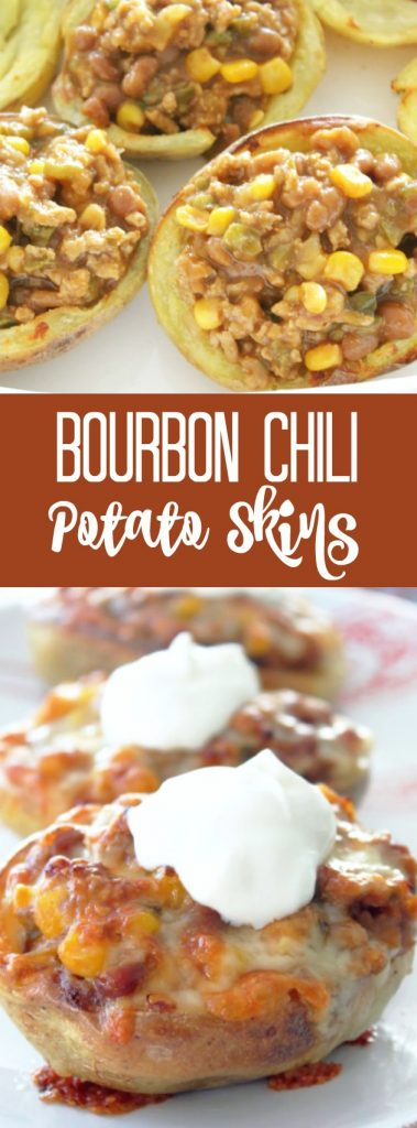 Bourbon Chili Potato Skins