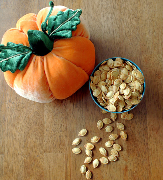 Salt and Vinegar Pumpkin Seeds