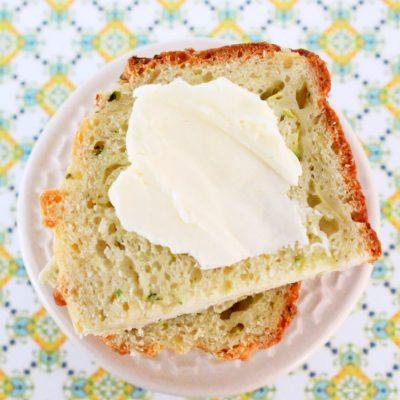Zucchini Parmesan Quick Bread
