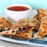Chicken Sausage Supreme Pizza Quesadilla