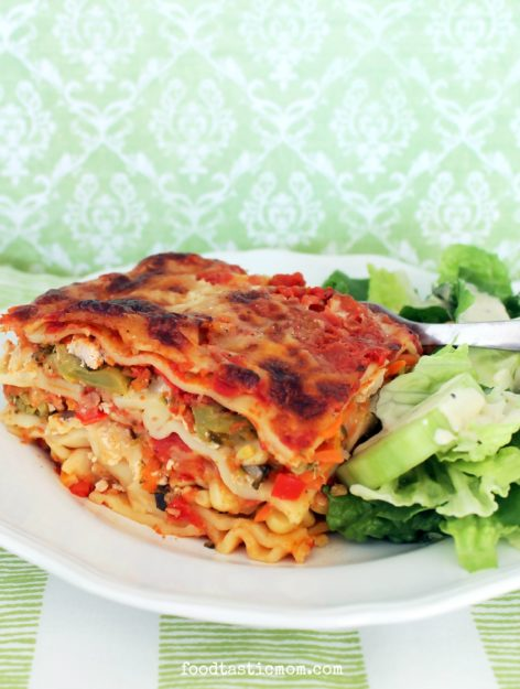 Midwestern Garden Turkey Lasagna with Red Gold Tomatoes