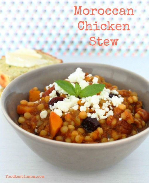 Moroccan Chicken Stew by Foodtastic Mom