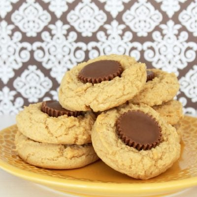 Reese's Peanut Butter Cup Peanut Butter Cookies