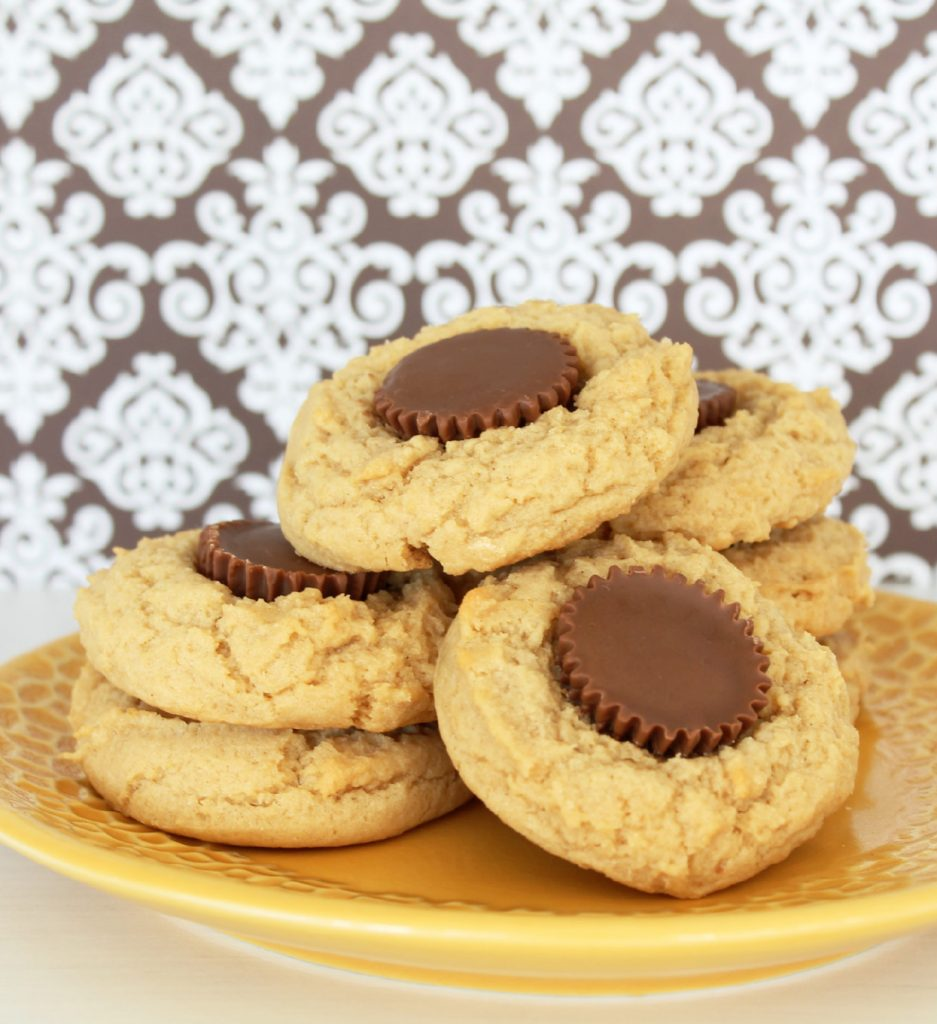 Reese's Peanut Butter Cup Peanut Butter Cookies - Foodtastic Mom