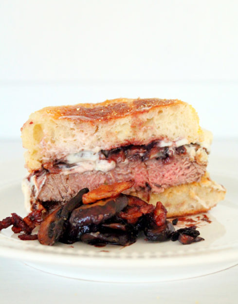 Filet Mignon Burgers by Foodtastic Mom