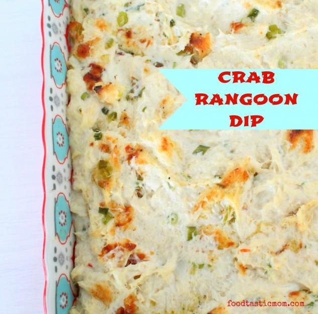 Crab Rangoon Dip by Foodtastic Mom