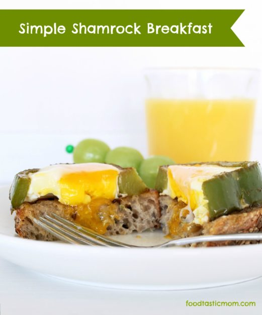 Simple Shamrock Breakfast by Foodtastic Mom