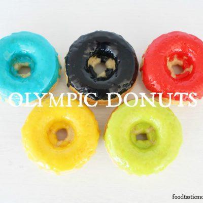 Basic Baked Donuts – Olympics Style