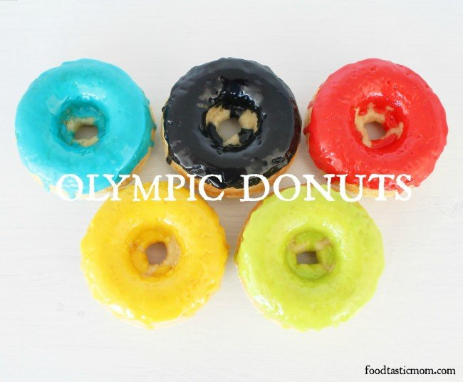 Basic Baked Donuts for the Olympics by Foodtastic Mom