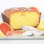 Ruby Red Grapefruit Loaf Cake