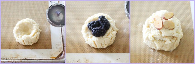 Blackberry Vanilla Scones by Foodtastic Mom