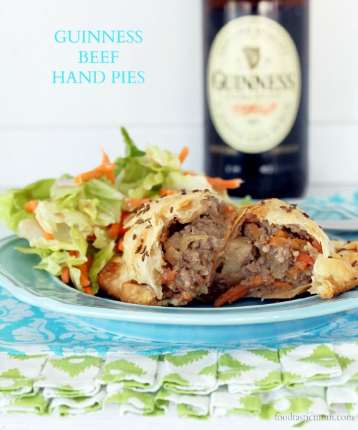 Guinness Beef Hand Pies by Foodtastic Mom
