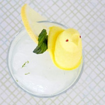 Easter PEEP Mojito by Foodtastic Mom