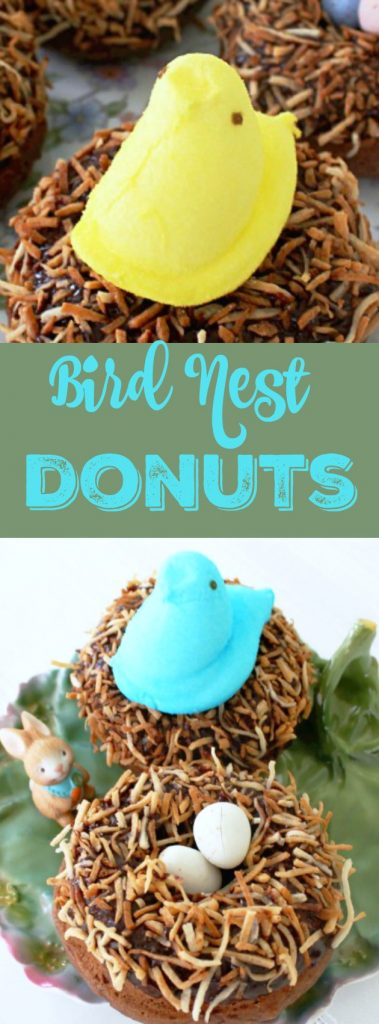 Bird Nest Donuts