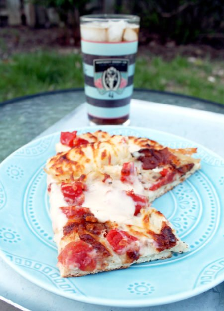 Kentucky Hot Brown Pizza by Foodtastic Mom