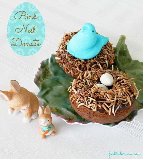 Bird Nest Donuts from Foodtastic Mom