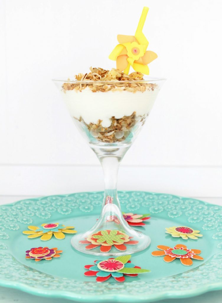Tropical Skillet Granola by Foodtastic Mom