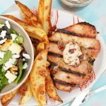 Bourbon Brined Pork with Candied Bacon Butter + GIVEAWAY and CONTEST