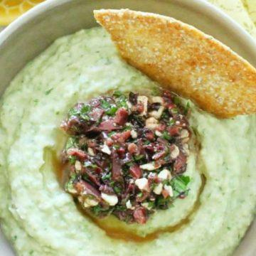 Lemony White Bean Hummus   Foodtastic Mom #hummus #hummusrecipe